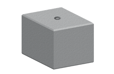 Legato Interlocking Concrete Block LG3