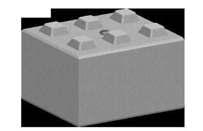 Legato Interlocking Concrete Block LG6