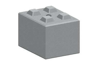 Legato Interlocking Concrete Block LG4