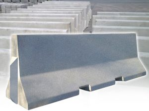 concrete jersey barriers