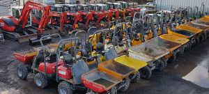 diggers-dumpers hire telford