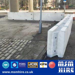 TVCB's Concrete Barrier Hire